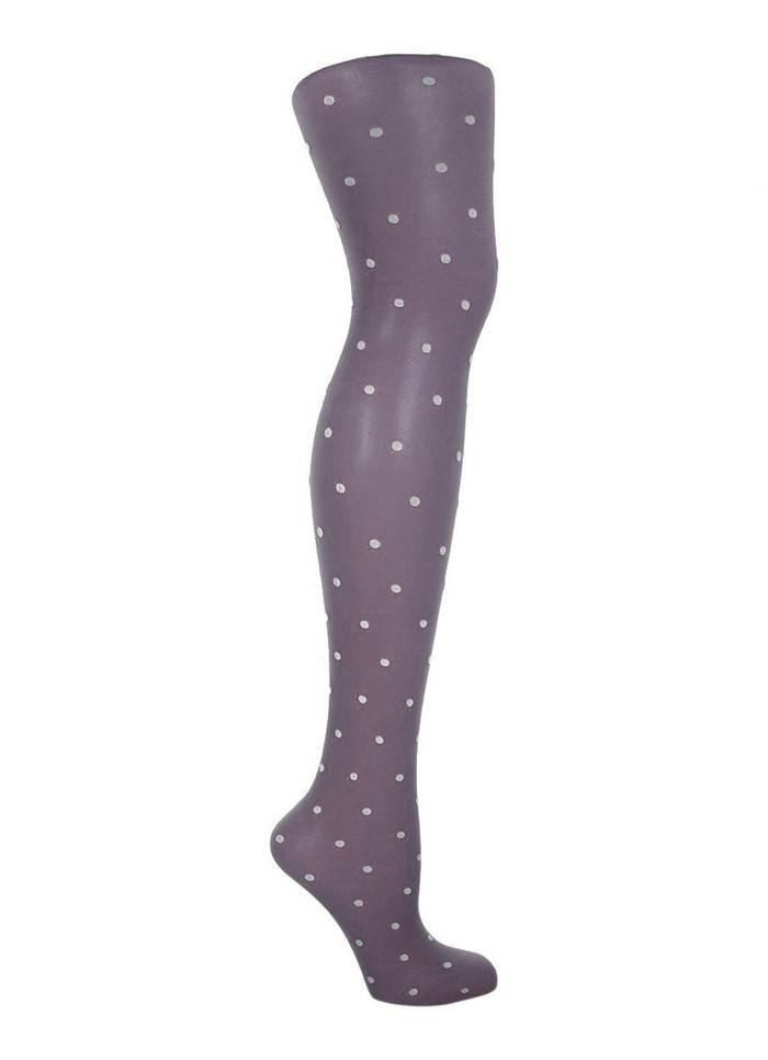 Cloe - 20 denier polka dot fashionpanty