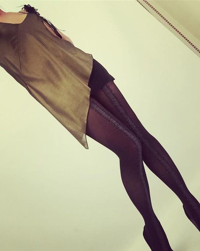 Eloise - 50 denier feestelijke fashionpanty