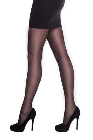 Style - 40 denier panty met ingeweven broekje - grote maat