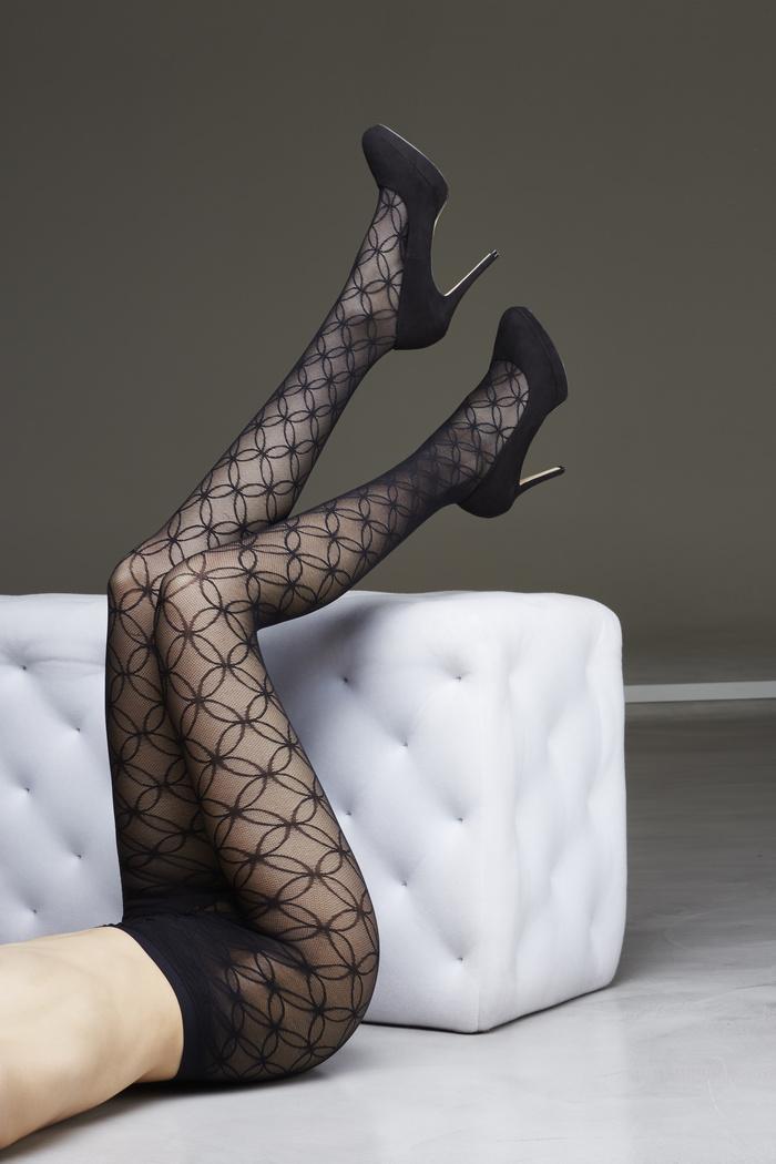 Karen - 70 denier fashion compressiepanty