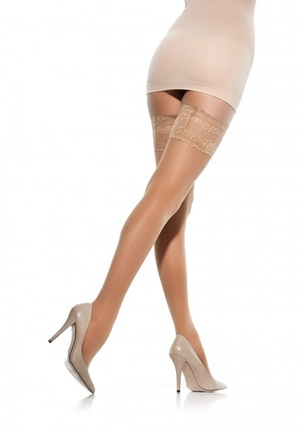 Marilyn - 70 Sheer stay-up met compressie
