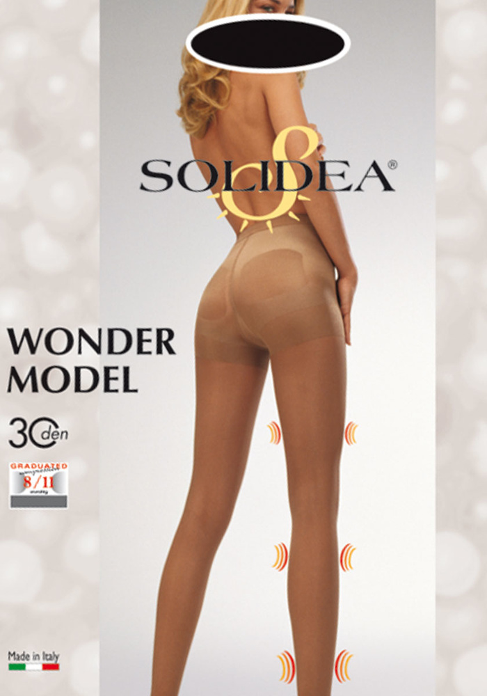 Wonder Model - 30 denier corrigerende panty met compressie